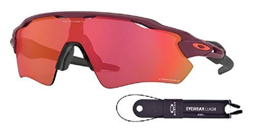 Oakley Radar EV Path OO9208 920891 38M Vampirella/Prizm Trail Torch Sunglasses For Men+BUNDLE with Oakley Accessory Leash ()