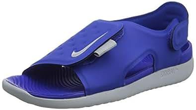 Nike Australia Sunray Adjust 5 Boys Sandals, Game Royal/Wolf Grey, 4 US