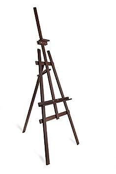 DWA Cavalletto da pittore ARTISTI GRANDI 1800mm struttura in legno di pino STUDIO EASEL - BROWN 1SZ1B