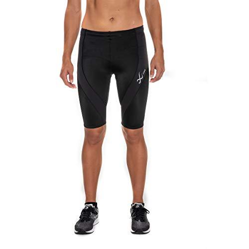 CW-X Women's Pro Running Shorts,Black,Medium
