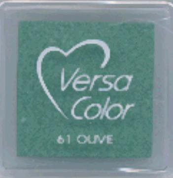 VersaColor Pigment Inkpad 1'' Cube-Olive VersaColor Pigment Inkpad 1'' Cube-Olive (Versacolor Cubes)