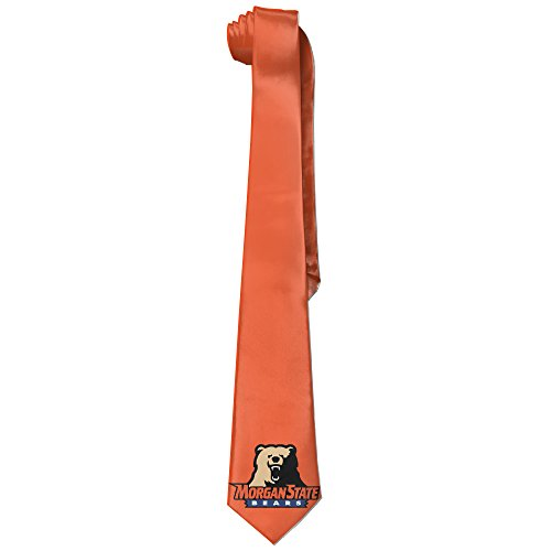 State University Necktie - ONESEDA Men's Morgan State Bears Tie Necktie Ties