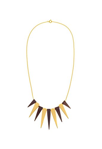 The Branch Rosewood Spike Collier en or 27 cm