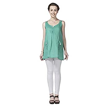 House of Napius Comfortable Green Maternity Tunic, Extra Large