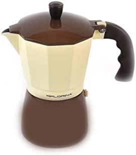 Cafetera 6 Tazas Color Marrón: Amazon.es: Hogar