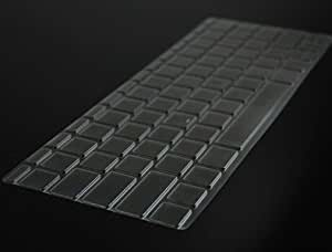 """Cosmos Quality Ultra Thin & Light Weight Clear see thru TPU Keyboard cover skin for Macbook air 11"""" 11.6"""" A1370 + Cosmos cable tie (sku:052-622)"""