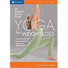 Quick Start Yoga For Weight Loss [dvd]