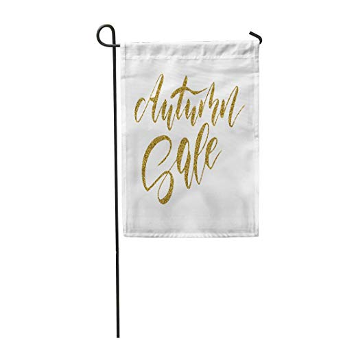 (Tarolo Decoration Flag Abstract Autumn Sale Calligraphic for Flyers Templates Advertise Autumnal Thick Fabric Double Sided Home Garden Flag 12