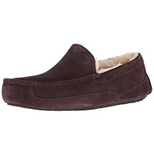 UGG Men's Ascot Slipper, Espresso, 15 M US