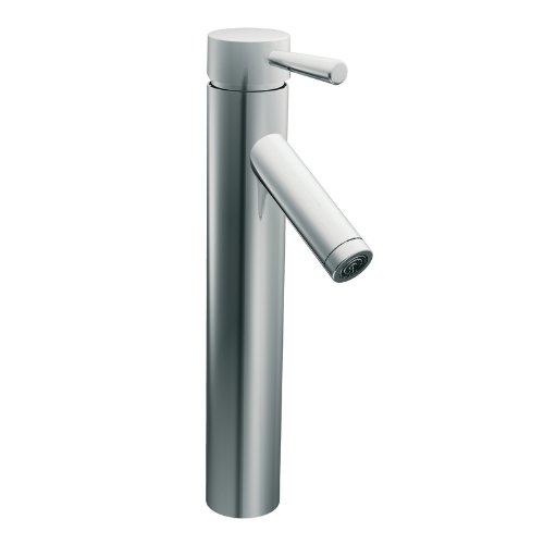 Moen 6111 Level One-Handle Low Arc Vessel Bathroom Faucet, Chrome Moen Faucets Level