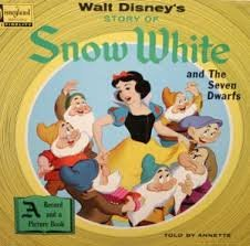 Walt Disney's Story of Snow White and the Seven Dwarfs (A Record and  Picture Book)
