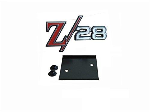 Golden Star Auto EM01-695 Z-28 Grille Emblem (Z28 Emblem)