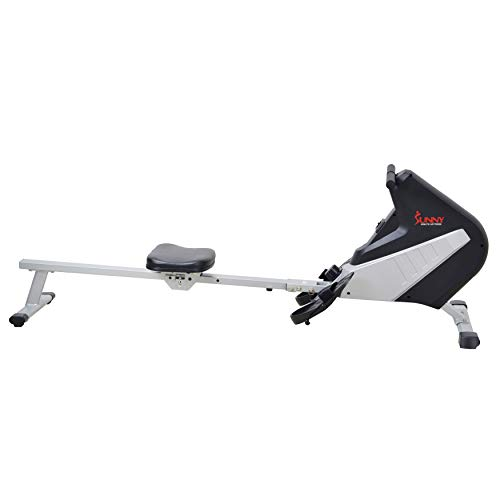 Sunny Health & Fitness SF-RW5634 Magnetic Rowing Machine Rower w/ LCD Monitor by Sunny Health & Fitness (Image #2)