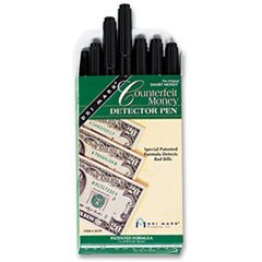 Dri Mark Smart Money Counterfeit Bill Detector Pen for Use with U.S. Currency, Dozen by Drimark