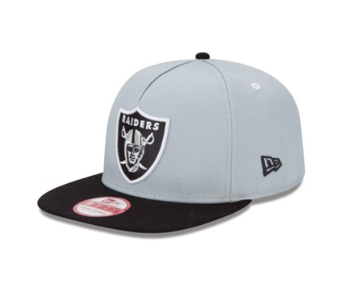 newest 68d40 f0b4c NFL Oakland Raiders 9Fifty Turnover Snapback 2 Tone Cap, Silver Black - Buy  Online in UAE.   Sports Products in the UAE - See Prices, Reviews and Free  ...