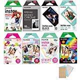 Fujifilm Instax Mini Instant Film 8-SET for Mini 90 8 70 7s