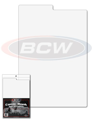 BCW 1-CD-TALL New Tall Comic Book Dividers by BCW