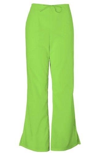 - Cherokee Workwear Scrubs 4101 PETITE Low Rise Flare Leg Scrub Pant (Lime Green, XS-Petite)