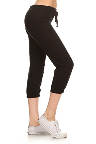 Jersey Cropped Pants - 1