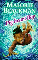book cover of Pig-Heart Boy