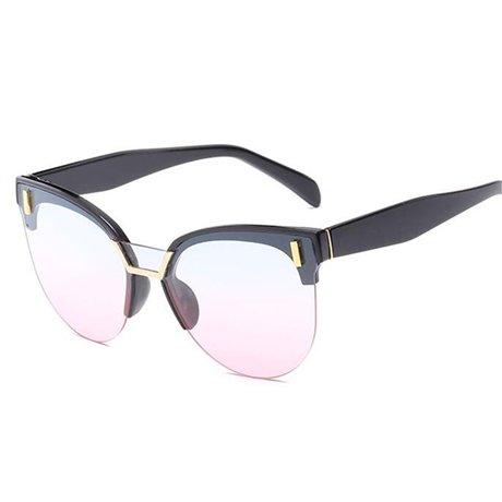 Sol marca Retro Gafas Pink Diseñador de sol Viaje de Rectángulo Gafas de Sol Pequeño Gafas Mujeres GGSSYY la de de de Marco Multi qP8RTn