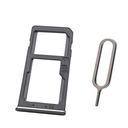 (Nano SIM Card SIM Tray + Micro SD Card Holder Adapter for Nokia 6 2017 N6 TA-1000 TA-1003 TA-1033 TA-1025 5.5