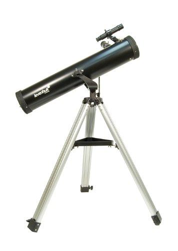 Levenhuk Skyline 76x700 AZ Telescope (Black)
