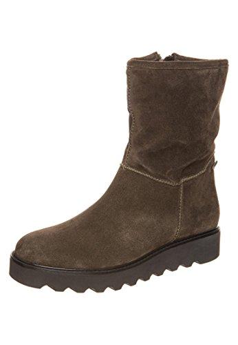 Högl shoe fashion GmbH 8-101722-55000, Damen Warm gefütterte Schneestiefel, oliv