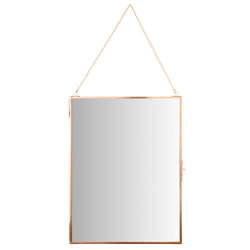Koyal Wholesale Modern Mirror Wall Decor Photo Frame Cabinet, Large 12