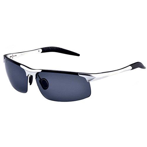 Cheap Novawo Urltra-Light Aluminum-magnesium Polarized Sunglasses for Running Cycling Fishing Golf
