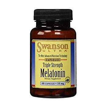 Swanson Melatonin 10 mg - 60 capsules