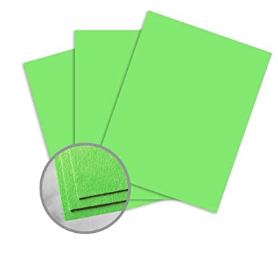 Astrobrights Martian Green Paper - 8 1/2 x 11 in 60 lb Text Smooth 30% Recycled 500 per Ream