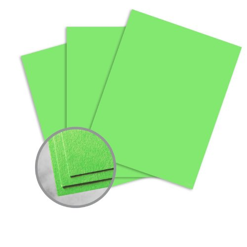 Astrobrights Martian Green Paper - 11 x 17 in 60 lb Text Smooth 30% Recycled 500 per Ream