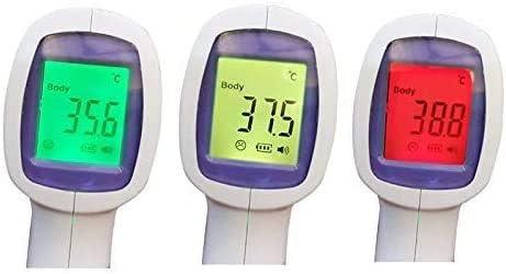 Term/ómetro digital por infrarrojos sin contacto reproducir medical digital r/ápido de 1 seg tubos CE y FDA DIKANG