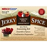 Nesco - Jerky Spice Works – Hot and Spicy and Teriyaki Seasoning – 3 Pack – Multi-Flavor