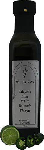 Olive Oil Pantry Jalapeno Lime Flavor Infused White Balsamic ()