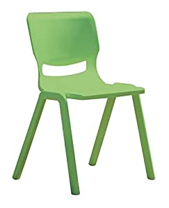 Conference chair green polyprop