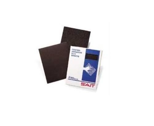 United Abrasives- SAIT 84918 9-Inch x 11-Inch Aluminum Oxide (DA-F) 320 Grit Sanding Sheet, 50-Pack