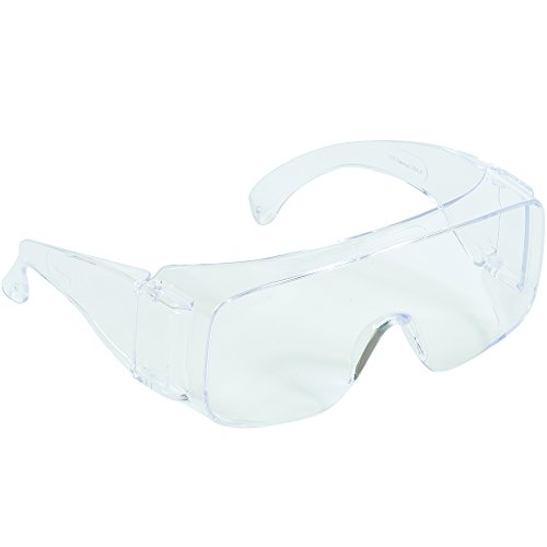 BOX USA BPOCS1631 1 Tour-Guard V Protective Eyewear, Clear (Pack of 25) from BOX USA