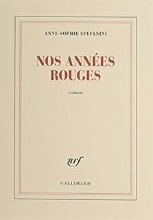 Nos années rouges, Stefanini, Anne-Sophie