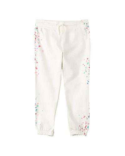 C&c Pocket California (C&C California Kids Girl's Cropped Pants (Little Kids/Big Kids) Snow White Large)