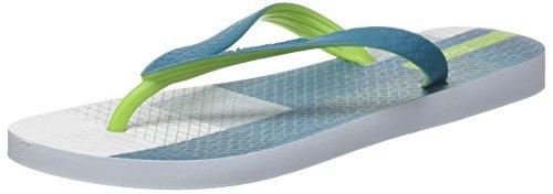 Ipanema Men's Parati III Ad Flip Flops Multicolour (White/Green 8902) eAHswfBTU