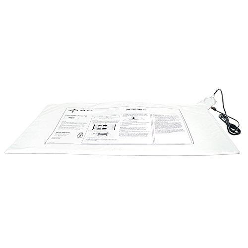 Medline Alarm - Medline MDT9130B1 Quick-Alert Universal Bed Alarm Pad, Vinyl, Latex Free, 16.25