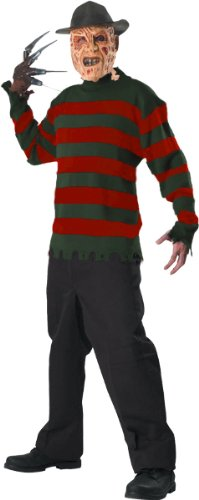 [Deluxe Freddy Sweater Costume - X-Large - Chest Size 50] (Freddy Krueger Costume)
