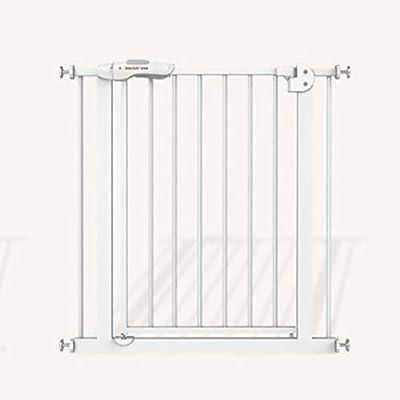 LIZIWL Barreras para Puertas y escaleras Seguridad Puerta Corte Libre Escalera Valla 77cm Alto adecuadas for aislar bebé Animales (Size : 255-264cm): Amazon.es: Hogar