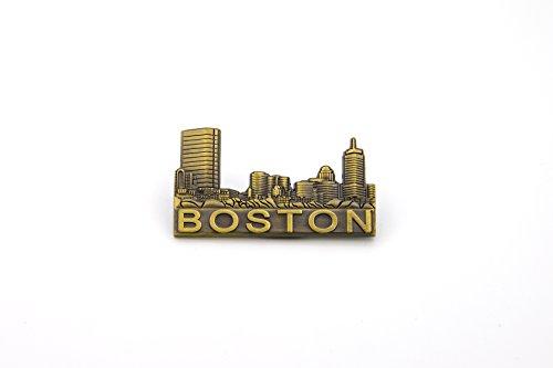 12 Pack Boston Skyline Magnet ()
