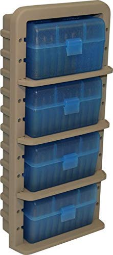 MTM ARRS Ammo Rack for Rifle Calibers (4-Ammo Boxes)