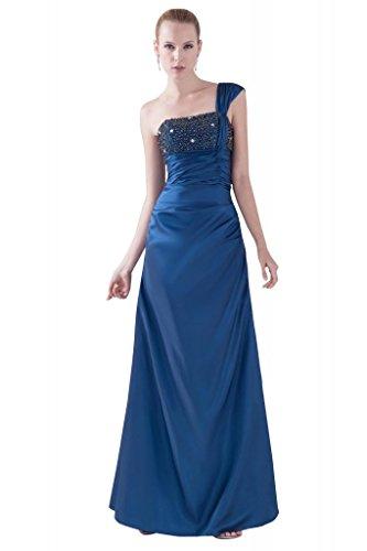 gefrieste GEORGE BRIDE Schulter Blau A Einfache Linie einer Abendkleid rrd6Ywq