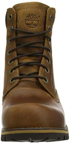 Timberland Brown Rugged medium Uomo Toe Waterproof 6 Marrone Polacchine Plain Inch rrdvqzwB