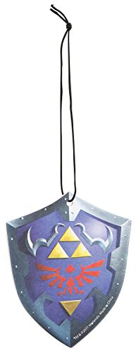 JUST FUNKY The Legend of Zelda Official Hylian Shield Air Freshener - Vanilla Fragrance, ()